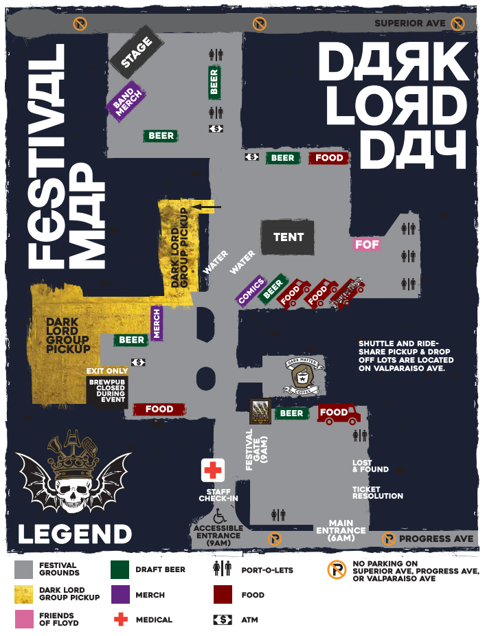 Dark Lord Day 2017 Map